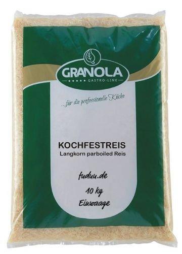 Langkorn parboiled Reis 10 kg (kochfest)